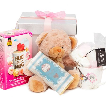 Hug in a Mug Teddy Hamper