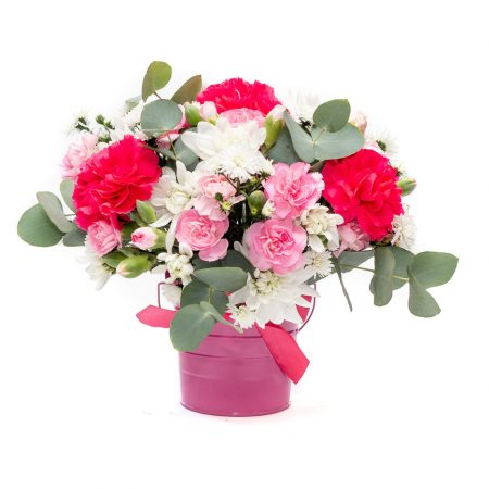 Pink Tin Arrangement