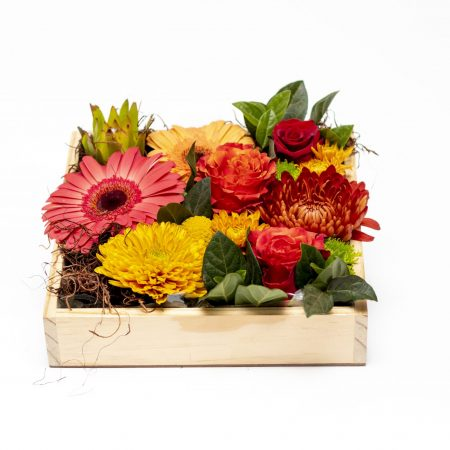 Autumn Box Arrangement