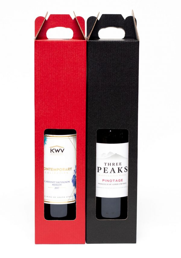 Wine Box Red/Black