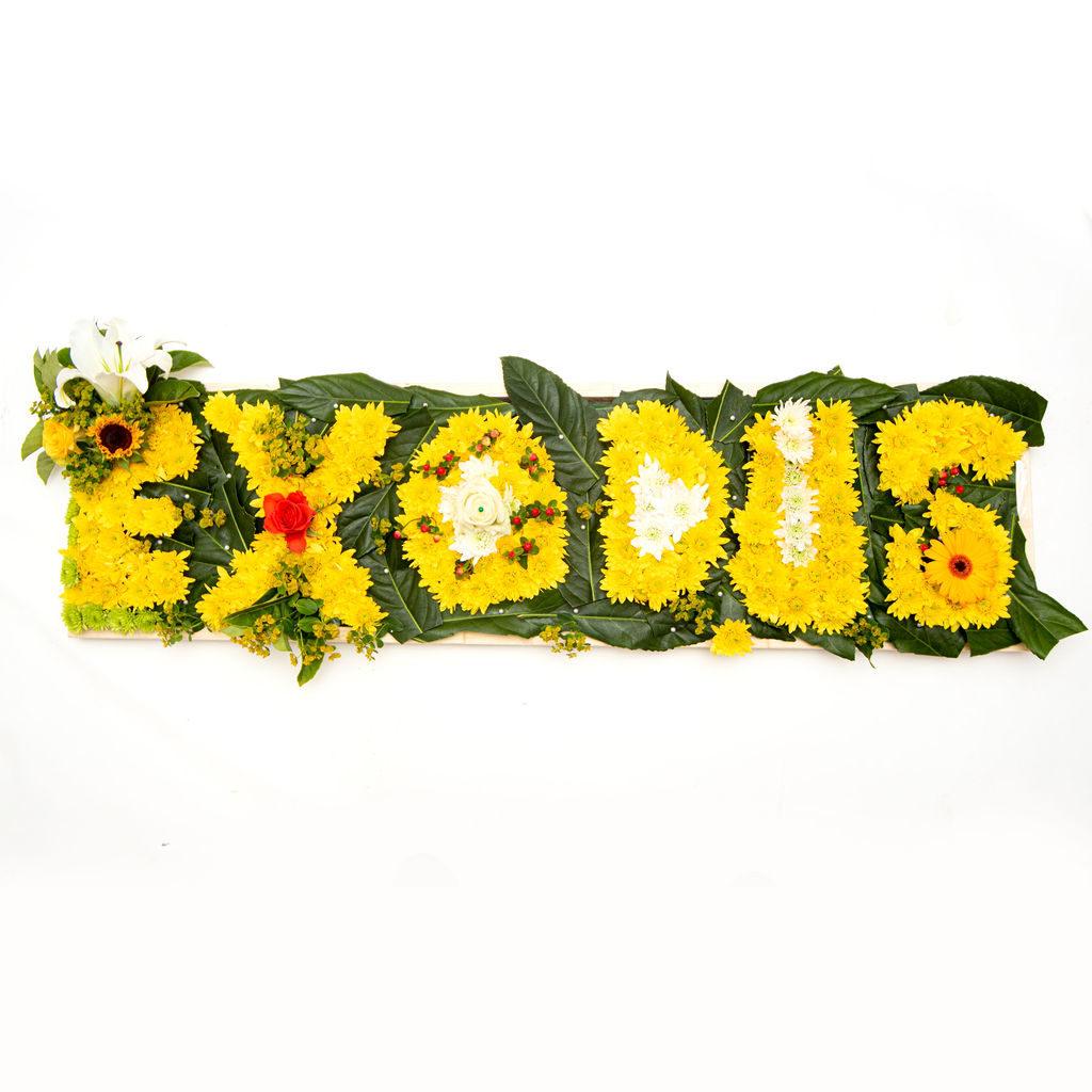 Flowers in Words