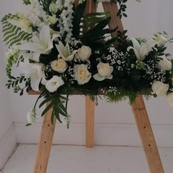 Flowers on Stand